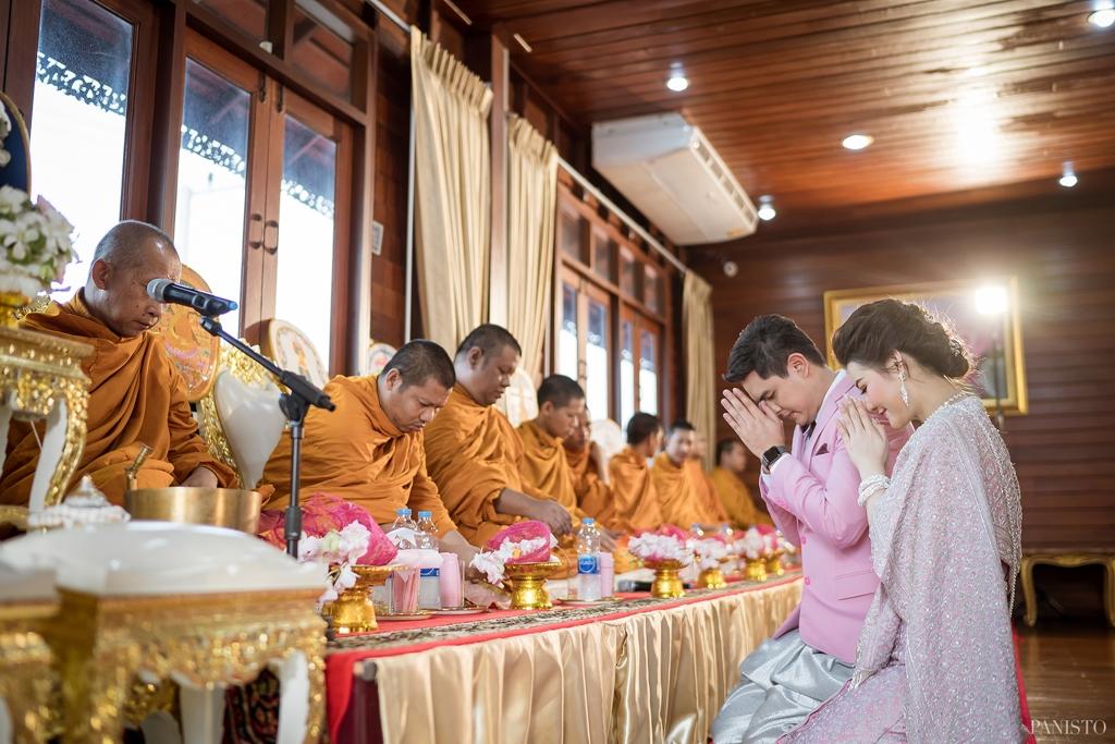 เรือนไทยสำหรับจัดงานแต่งงาน นนทบุรี